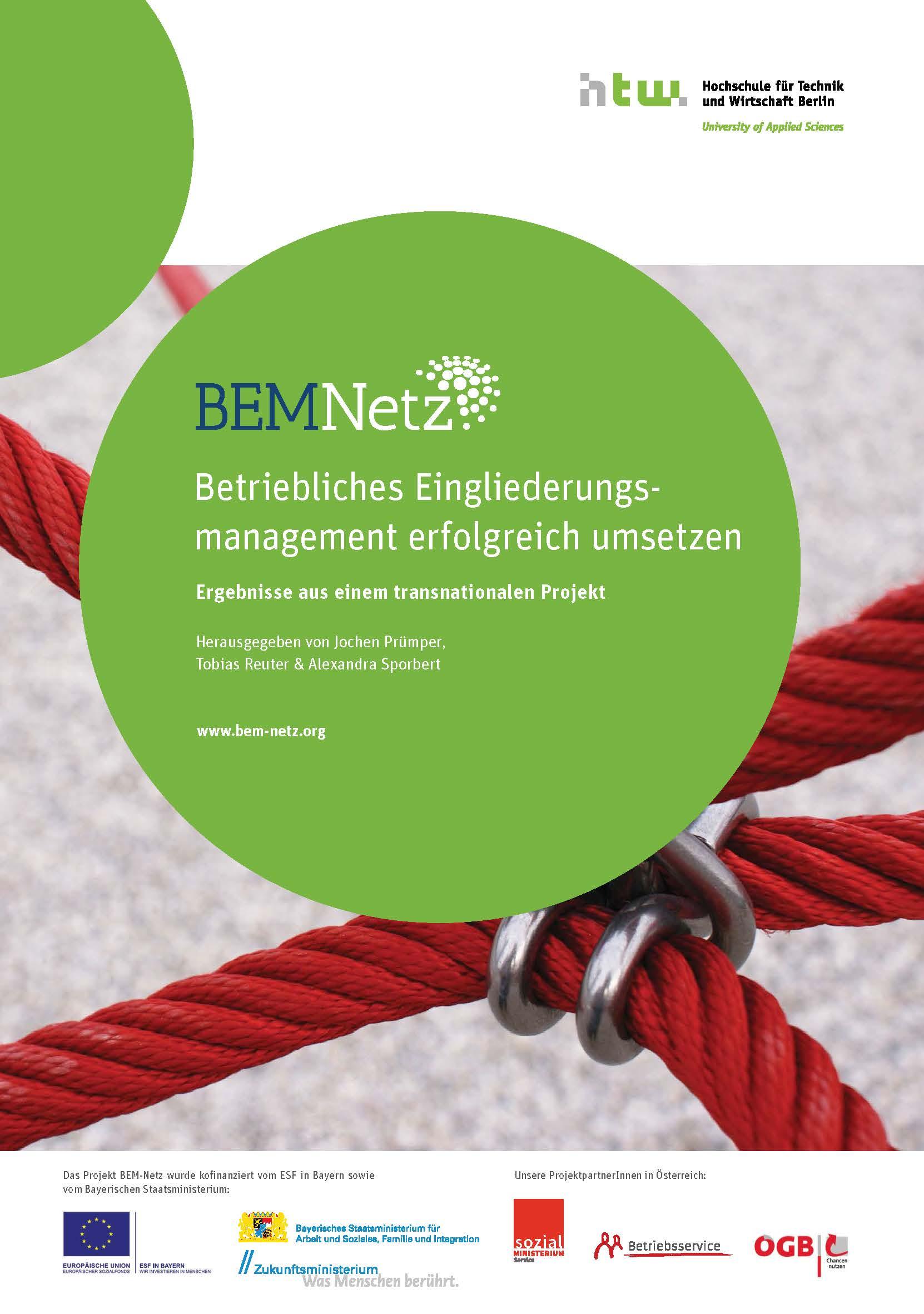 Sammelband Projekt BEM-Netz